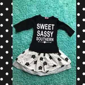 Other - Sweet Sassy Southern Little Girl's Outfit